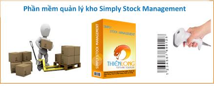 Phần mềm quản lý kho Simply Stock Management