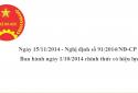 Nghị định số 91/2014/NĐ-CP có điểm gì mới?